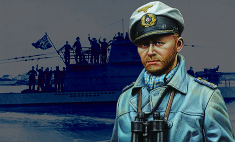 16021 German U-Boat Captain